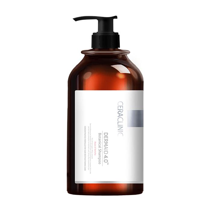 Купить Шампунь для волос Evas Ceraclinic Dermaid 4.0 Botanical Shampoo (1л), Шампунь на растительной основе для ежедневного ухода за кожей головы и волосами, Южная Корея