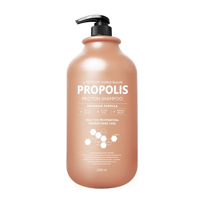 Шампунь для волос Evas Pedison Institut-Beaute Propolis Protein Shampoo (2л) Шампунь для интенсивного питания и восстановления поврежденных волос с прополисом фото