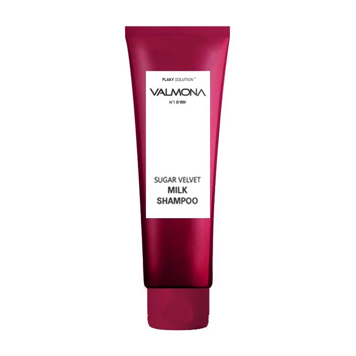 Купить Шампунь для волос Evas Valmona Sugar Velvet Milk Shampoo (100 мл), Шампунь для увлажнения и оздоровления волос с комплексом из молока и экстрактов ягод, Южная Корея