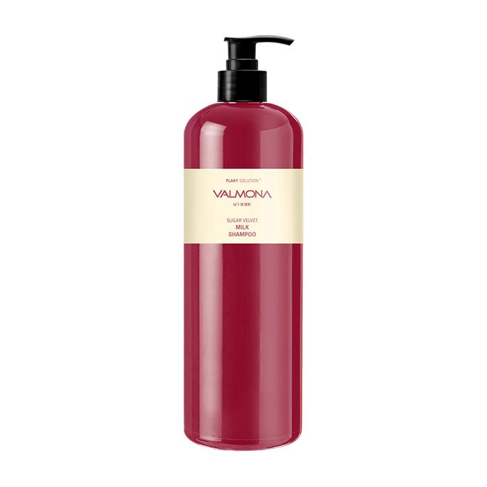 Купить Шампунь для волос Evas Valmona Sugar Velvet Milk Shampoo (480 мл), Шампунь для увлажнения и оздоровления волос с комплексом из молока и экстрактов ягод, Южная Корея
