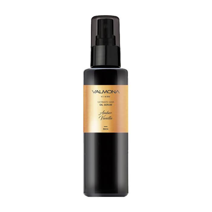 Купить Сыворотка для волос Evas Valmona Ultimate Hair Oil Serum Amber Vanilla, Масляная сыворотка для восстановления волос с ароматом ванили, Южная Корея