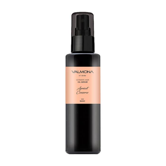 Купить Сыворотка для волос Evas Valmona Ultimate Hair Oil Serum Apricot Conserve, Масляная сыворотка для восстановления волос с ароматом сладкого абрикоса, Южная Корея