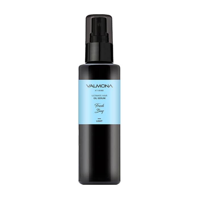 Сыворотка для волос Evas Valmona Ultimate Hair Oil Serum Fresh Bay Масляная сыворотка для восстановления волос с ароматом свежести залива фото