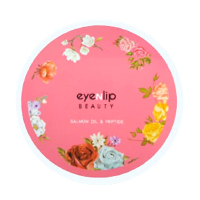 Купить Гидрогелевые патчи Eyenlip Salmon Oil & Peptide Hydrogel Eye Patch, Гидрогелевые патчи для глаз с пептидами и лососевым маслом, Южная Корея