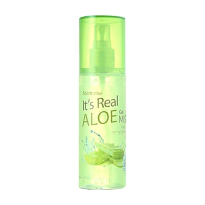 Купить Мист для лица FarmStay It Is Real Gel Mist Aloe, Гель-мист для моментального увлажнение кожи лица с экстрактом алоэ вера, Южная Корея