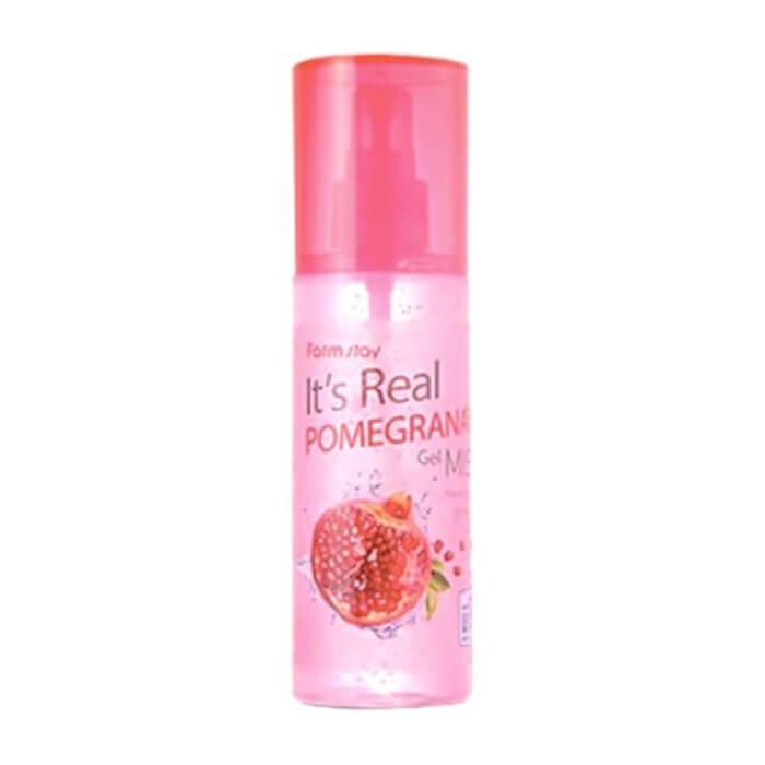 Купить Мист для лица FarmStay It Is Real Gel Mist Pomegranate, Гель-мист для моментального увлажнение кожи лица с экстрактом граната, Южная Корея