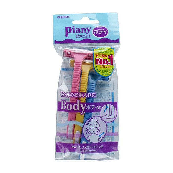 Бритвенные станки для тела Feather Piany Body.