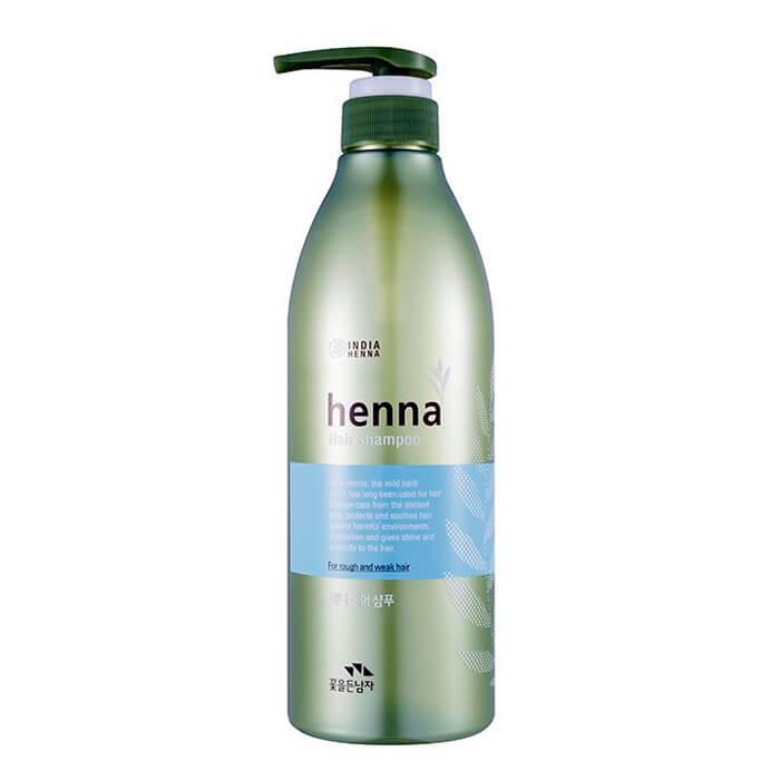 Купить Шампунь для волос Man with Flowers Henna Hair Shampoo, Восстанавливающий шампунь для волос с экстрактом хны, Flor de Man, Южная Корея