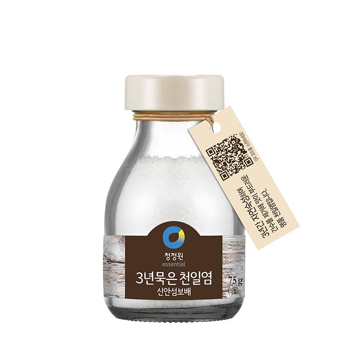 Купить Соль пищевая морская Chungjungwon Sea Salt (75 г), Пищевая морская соль трехлетней выдержки для приготовления различных блюд, Продукты, Южная Корея