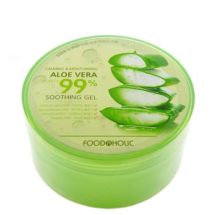 Купить Гель с алоэ FoodaHolic Calming & Moisturizing Aloe Vera Soothing Gel, Многофункциональный гель с 99% содержанием алое вера, Южная Корея