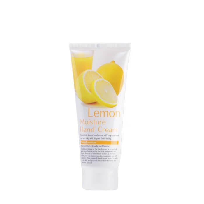 Купить Крем для рук FoodaHolic Lemon Moisture Hand Cream, Увлажняющий крем для рук с экстрактом лимона, Южная Корея