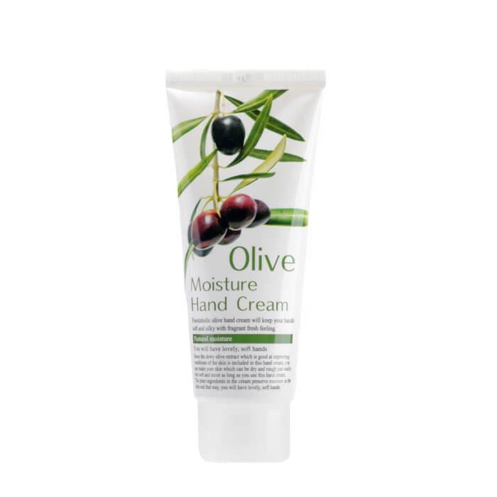 Купить Крем для рук FoodaHolic Olive Moisture Hand Cream, Увлажняющий крем для рук с экстрактом оливы, Южная Корея