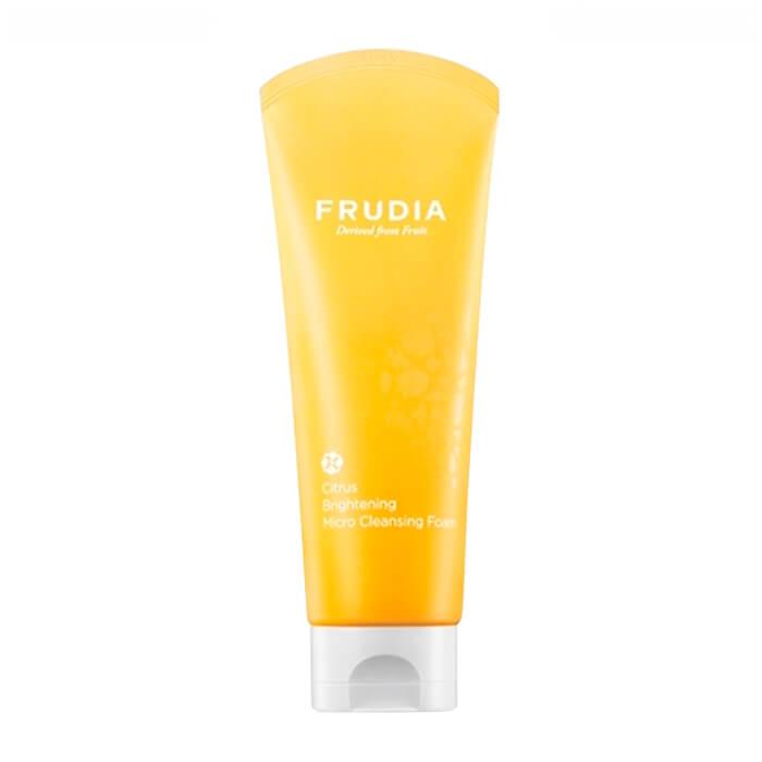 Купить Очищающая пенка Frudia Citrus Brightening Micro Cleansing Foam, Осветляющая пенка для умывания лица с цитрусовым экстрактом, Южная Корея