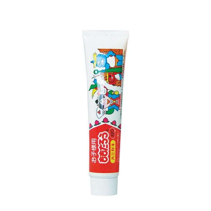 Купить Зубная паста Fudo Kagaku Momotaro Toothpaste, Отбеливающая зубная паста для защиты от кариеса и зубного камня с ароматом фруктов, Япония