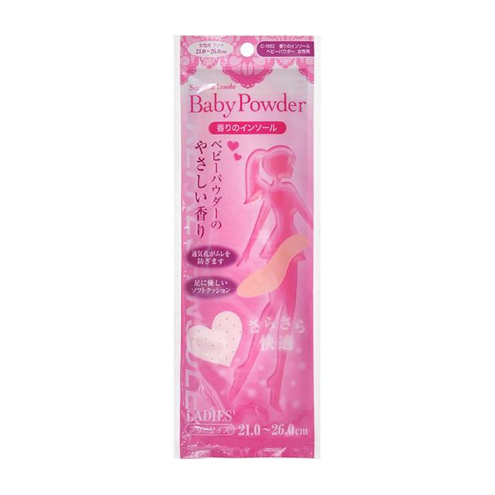 Женские стельки Fudo Kagaku Refreshinsole (21-26 см), Женские мягкие дышащие стельки для обуви с ароматом свежести, Япония  - Купить