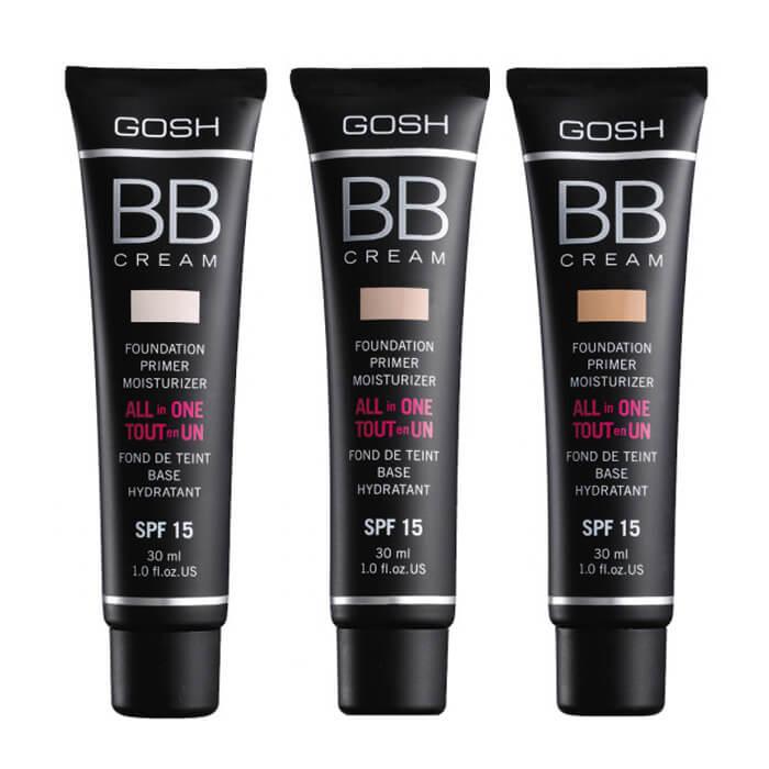 ВВ крем Gosh BB Cream Восстанавливающий и матирующий тональный крем для лица фото
