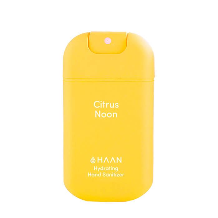 Купить Дезинфицирующий спрей для рук Haan Hand Sanitizer Citrus Noon, Очищающий и увлажняющий спрей для рук с освежающим ароматом лимона, Испания