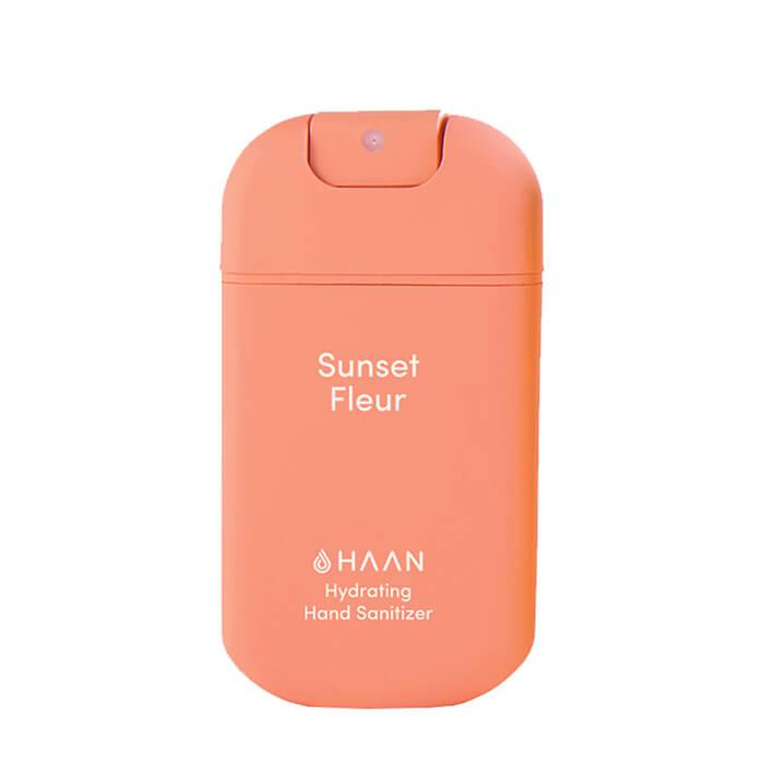 Купить Дезинфицирующий спрей для рук Haan Hand Sanitizer Sunset Fleur, Очищающий и увлажняющий спрей для рук с ароматом луговых цветов, Испания