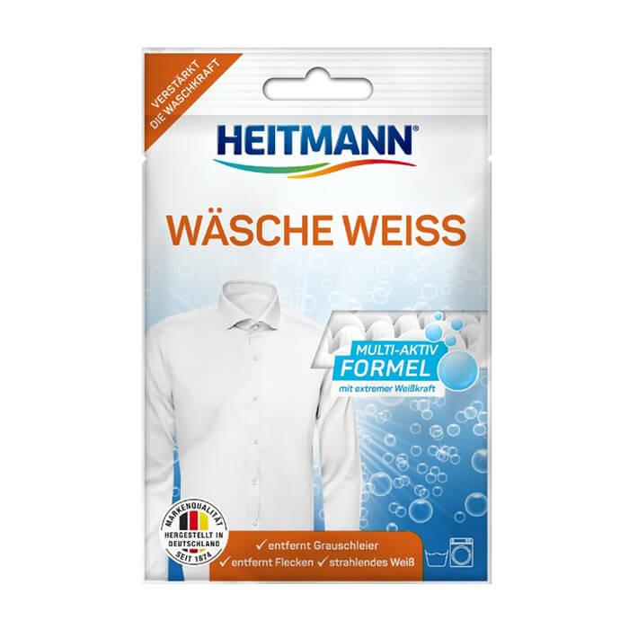 Купить Отбеливатель для белья Heitmann Wasche Weiss, Отбеливатель для белого белья с тройной формулой и активным кислородом, Германия
