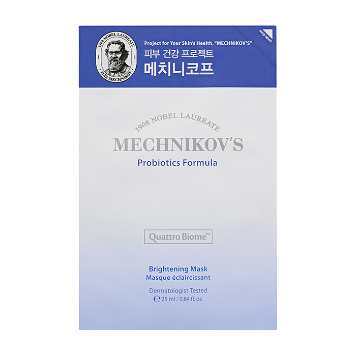 Купить Тканевая маска Holika Holika Mechnikov's Probiotics Formula Brightening Mask, Тканевая маска для выравнивания тона кожи лица с пробиотиками, Южная Корея