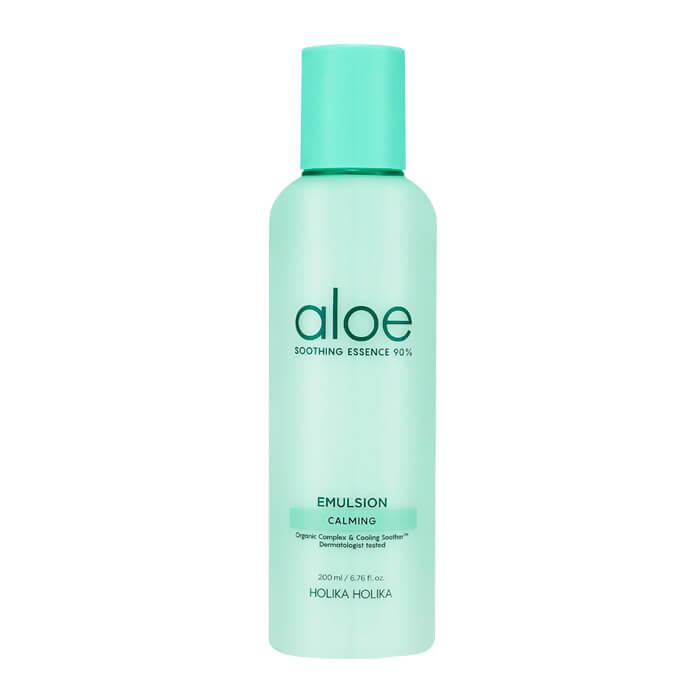 Купить Эмульсия для лица Holika Holika Aloe Soothing Essence 90% Emulsion, Увлажняющая эмульсия для лица с 90% экстрактом алоэ вера, Южная Корея