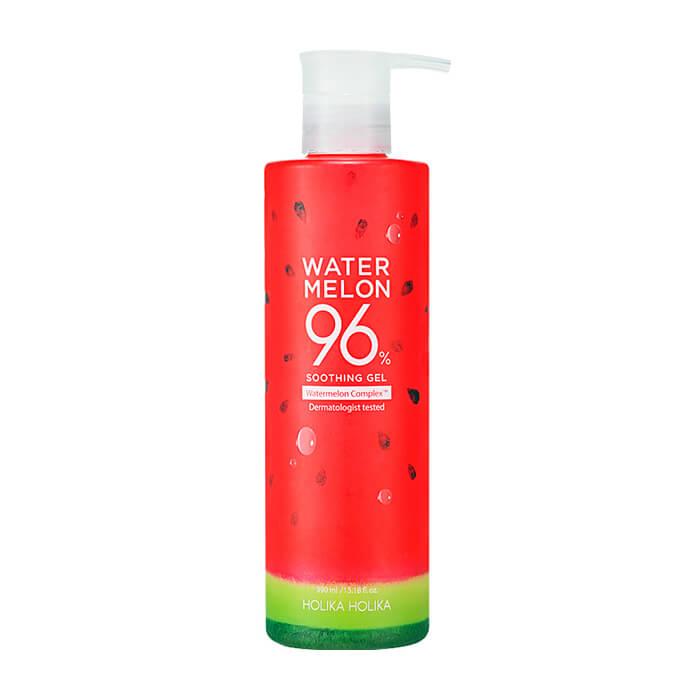 Купить Гель с арбузом Holika Holika Water Melon 96% Soothing Gel, Универсальный увлажняющий гель для кожи лица и тела с экстрактом арбуза, Южная Корея