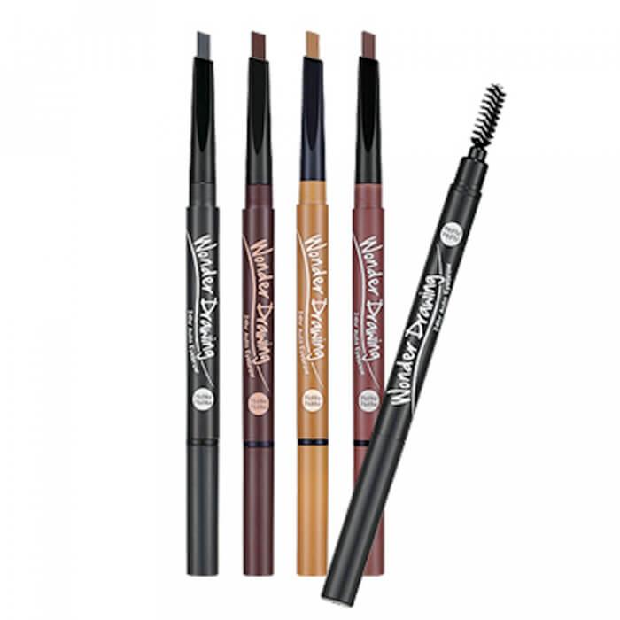 Купить Карандаш для бровей Holika Holika Wonder Drawing 24hr Auto Eyebrow, Автоматический карандаш для бровей с щеточкой для укладки, Южная Корея