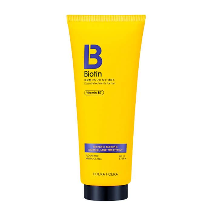 Купить Кондиционер для волос Holika Holika Biotin Damage Care Treatment, Кондиционер для повреждённых и ломких волос с биотином, Южная Корея