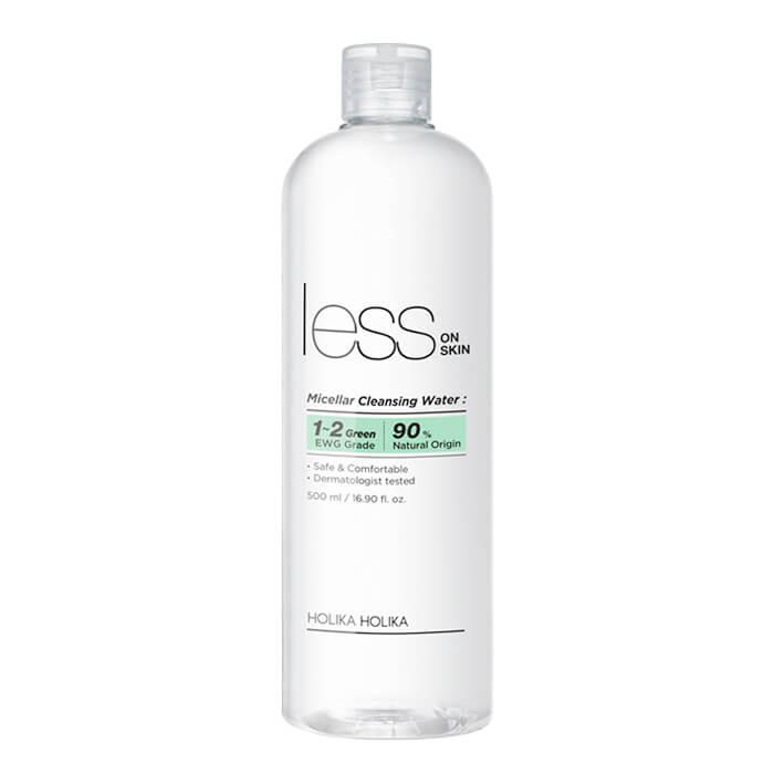 Купить Мицелярная вода Holika Holika Less On Skin Micellar Cleansing Water, Мицеллярная вода для снятия макияжа с чувствительной кожи, Южная Корея