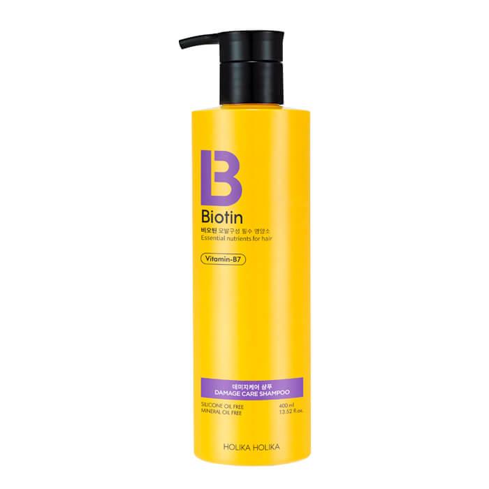 Купить Шампунь для волос Holika Holika Biotin Damage Care Shampoo, Шампунь для повреждённых и ломких волос с биотином, Южная Корея
