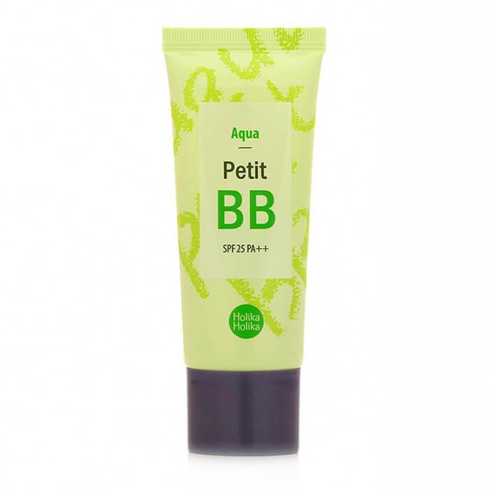 Купить ВВ крем Holika Holika Petit BB Aqua, ББ крем регулирующий уровень влажности с экстрактом зеленого чая, Южная Корея