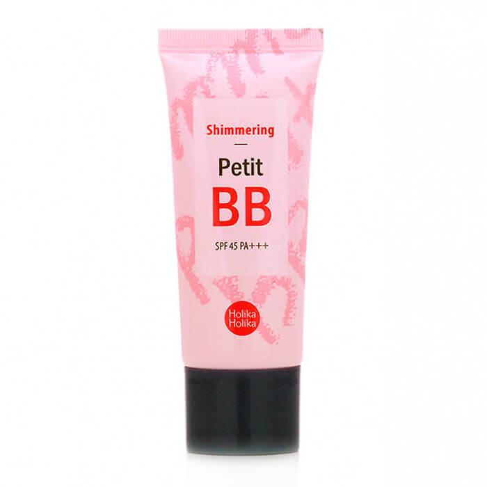 Купить ВВ крем Holika Holika Petit BB Shimmering, ББ крем с жемчужной пудрой для придания сатинового сияния, Южная Корея