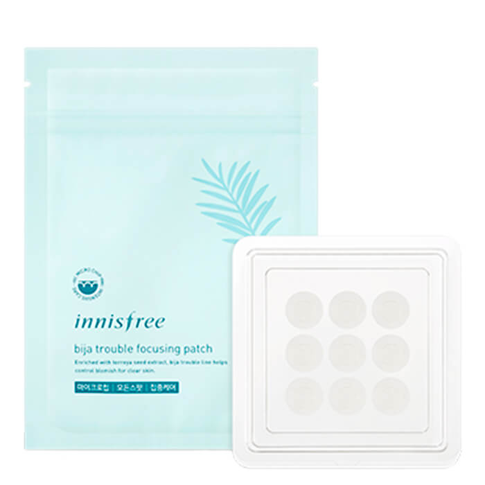 Патчи от воспалений Innisfree Bija Trouble Focusing Patch (9 шт)