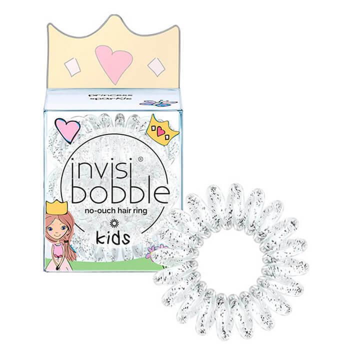 Купить Резинка-браслет для волос Invisibobble Kids - Princess Sparkle, Детская резинка-браслет для волос из искусственной смолы, Китай