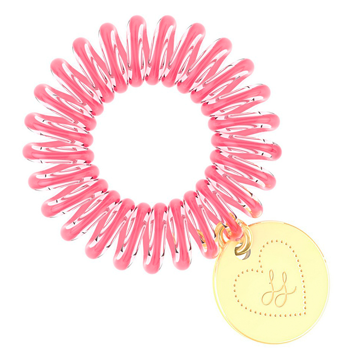 Купить Резинка-браслет для волос Invisibobble Original - Lisa & Lena, Лилово-розовая резинка-браслет для волос из искусственной смолы, Китай