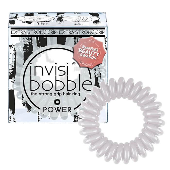 Купить Резинка-браслет для волос Invisibobble Power - Smokey Eye, Дымчато-серая резинка-браслет для волос экстрасильной фиксации, Китай