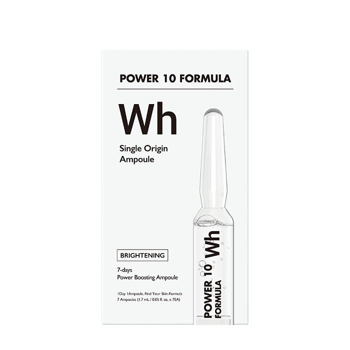 Купить Сыворотка для лица It's Skin Power 10 Formula WH Single Origin Ampoule, 7-дневная интенсивная программа для увлажнения и выравнивания тона кожи лица, Южная Корея