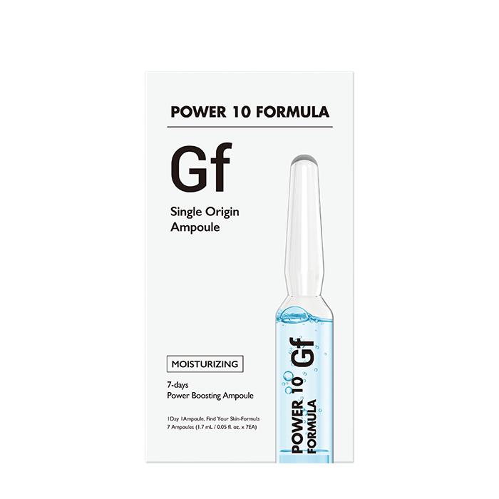 Купить Сыворотка для лица It's Skin Power 10 Formula GF Single Origin Ampoule, 7-дневная интенсивная программа интенсивного увлажнения и обновления кожи лица, Южная Корея