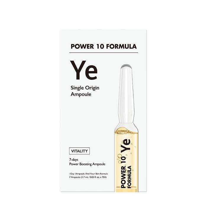 Купить Сыворотка для лица It's Skin Power 10 Formula YE Single Origin Ampoule, 7-дневная интенсивная программа для питания и выравнивания текстуры кожи лица, Южная Корея