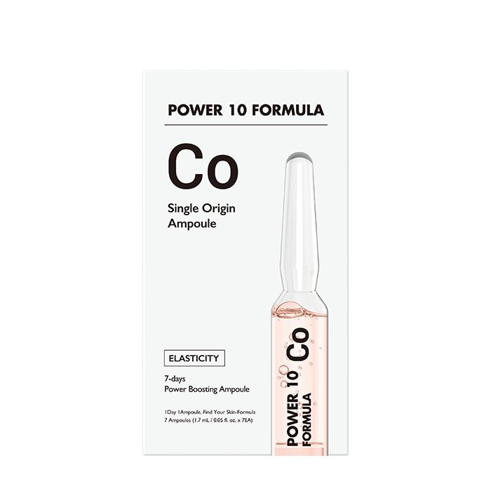 Купить Сыворотка для лица It's Skin Power 10 Formula CO Single Origin Ampoule, 7-дневная интенсивная программа для ухода за кожей лица с коллагеном, Южная Корея