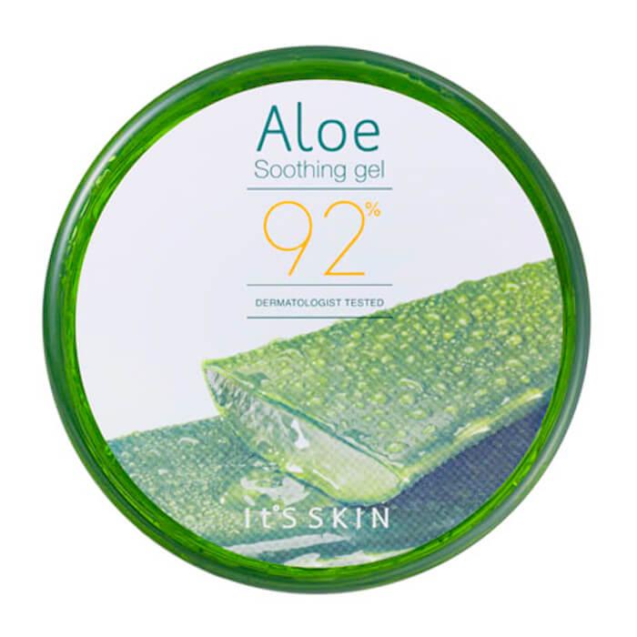 Купить Гель с алоэ It's Skin Aloe 92% Soothing Gel, Универсальный гель для лица и тела с 92% экстрактом сока алоэ вера, Южная Корея