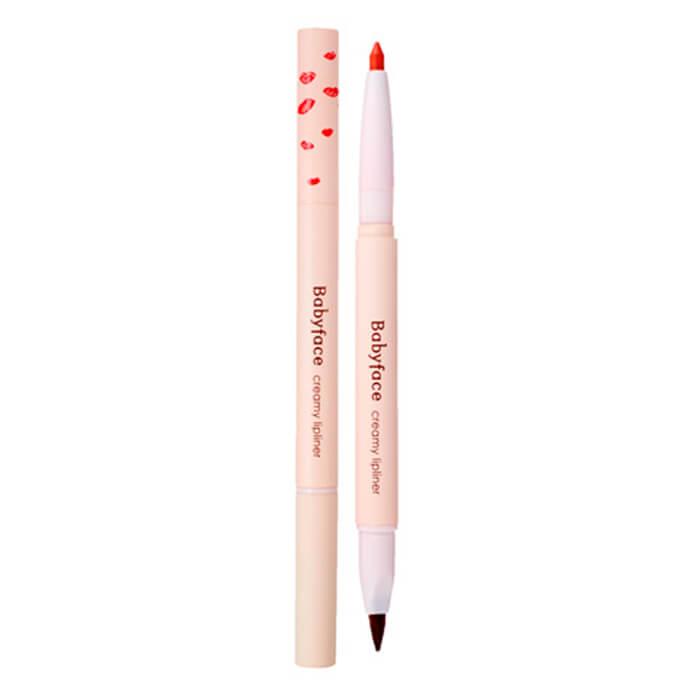 Купить Карандаш для губ It's Skin Babyface Creamy Lipliner, Мягкий карандаш для губ с витамином Е встроенной кистью, Южная Корея