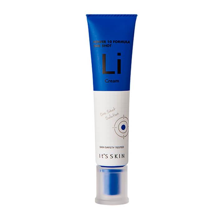 Купить Крем для лица It's Skin Power 10 Formula One Shot Li Cream, Крем для предотвращения появления пигментных пятен на лице, Южная Корея
