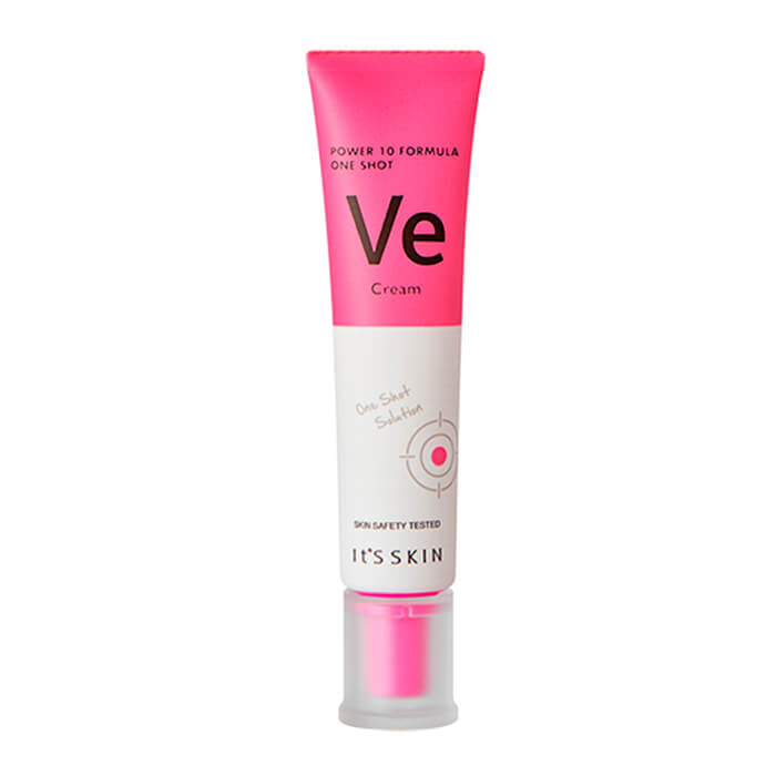 Крем для лица It's Skin Power 10 Formula One Shot Ve Cream Питательный и смягчающий крем для лица с витамином Е фото