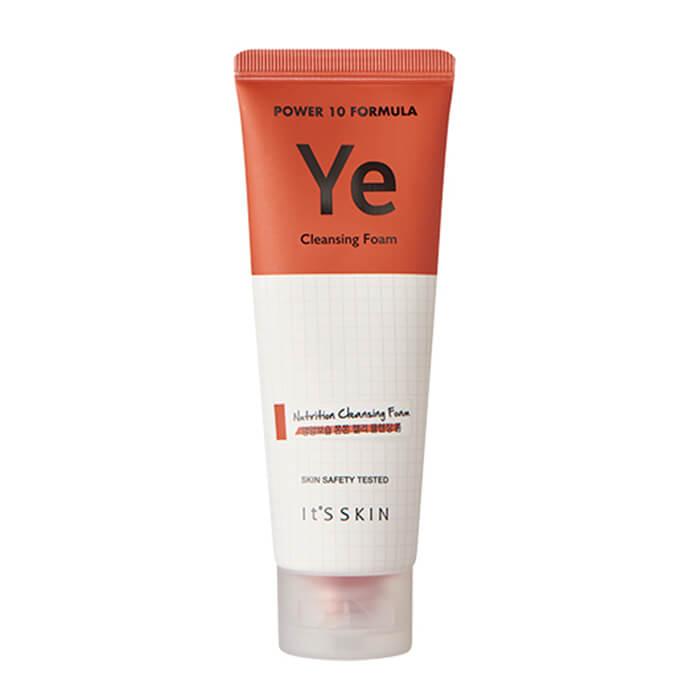 Купить Очищающая пенка It's Skin Power 10 Formula Ye Cleansing Foam, Гелевая пенка для умывания и придания упругости с комплексом YE, Южная Корея