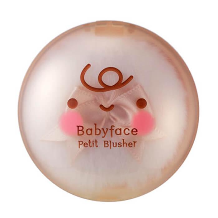 Румяна для лица It's Skin Babyface Petit Blusher Нежные естественные румяна для лица с матирующим эффектом фото