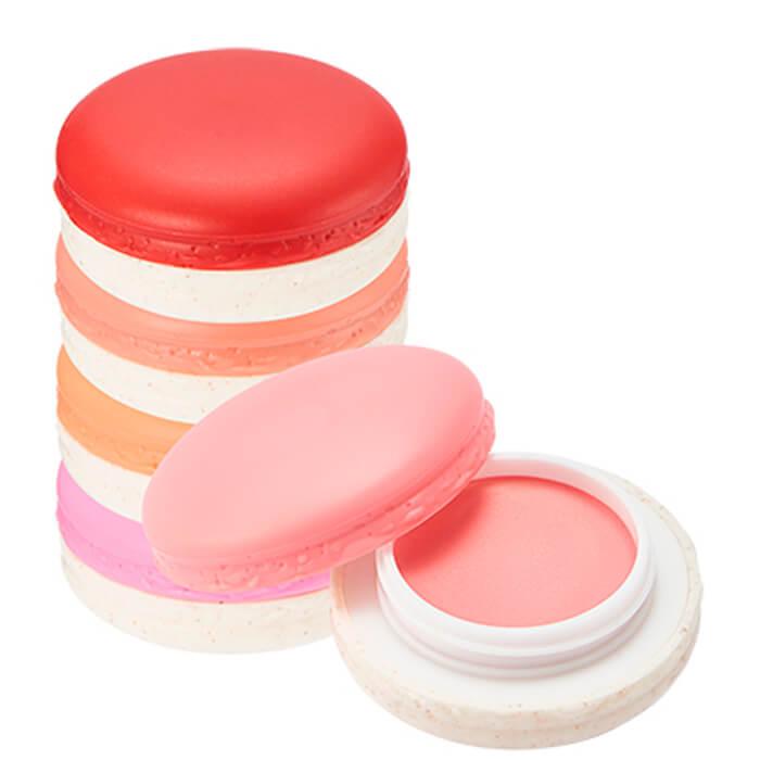 Купить Румяна для лица It's Skin Macaron Cream Filling Cheek, Кремовые румяна с мягкой текстурой и нежным персиковым ароматом, Южная Корея