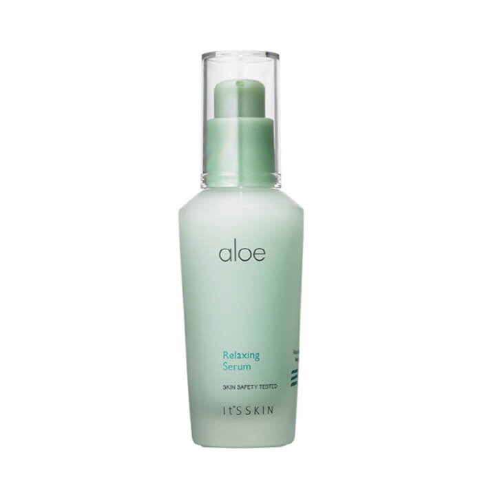 Купить Сыворотка для лица It's Skin Aloe Relaxing Serum, Успокаивающая сыворотка для лица с экстрактом сока алоэ вера, Южная Корея