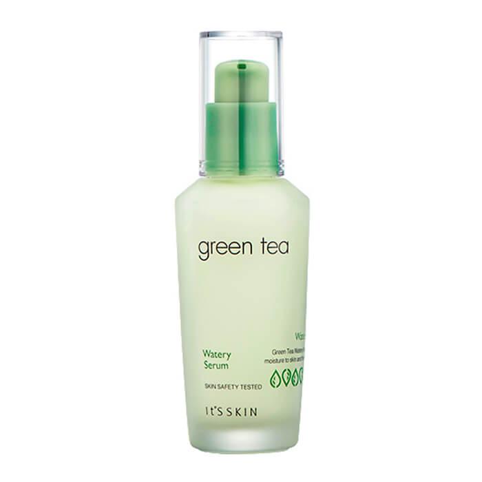 Купить Сыворотка для лица It's Skin Green Tea Watery Serum, Увлажняющая сыворотка для лица с экстрактом зелёного чая, Южная Корея