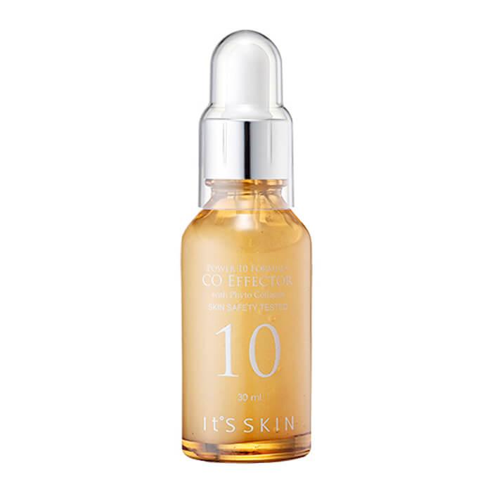 Купить Сыворотка для лица It's Skin Power 10 Formula CO Effector, Высококонцентрированная сыворотка для лица с растительным коллагеном, Южная Корея